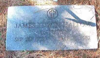 HALTOM (VETERAN), JAMES EDWIN - Dallas County, Arkansas | JAMES EDWIN HALTOM (VETERAN) - Arkansas Gravestone Photos