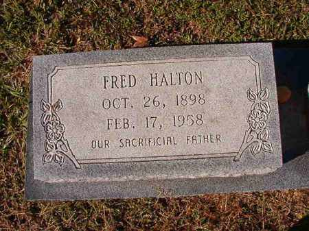 HALTON, FRED - Dallas County, Arkansas | FRED HALTON - Arkansas Gravestone Photos