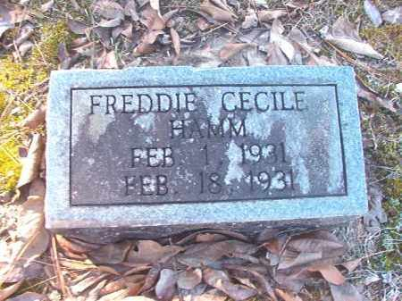 HAMM, FREDDIE CECILE - Dallas County, Arkansas | FREDDIE CECILE HAMM - Arkansas Gravestone Photos