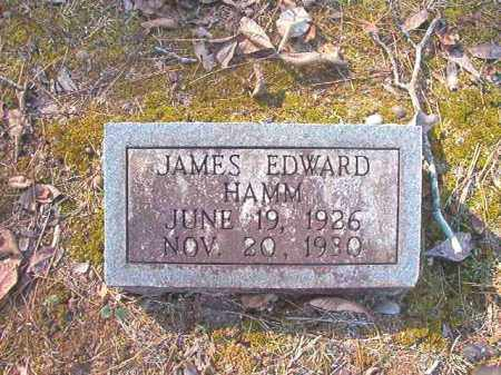 HAMM, JAMES EDWARD - Dallas County, Arkansas | JAMES EDWARD HAMM - Arkansas Gravestone Photos