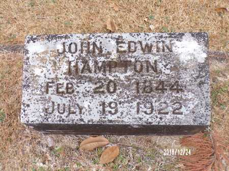 HAMPTON, JOHN EDWIN - Dallas County, Arkansas | JOHN EDWIN HAMPTON - Arkansas Gravestone Photos