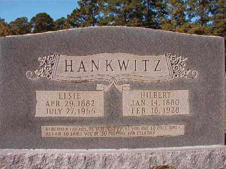 HANKWITZ, ELSIE - Dallas County, Arkansas | ELSIE HANKWITZ - Arkansas Gravestone Photos