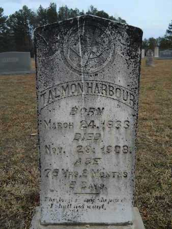 HARBOUR, TALMON - Dallas County, Arkansas | TALMON HARBOUR - Arkansas Gravestone Photos