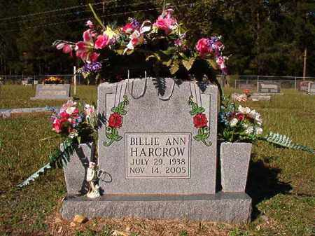 HARCROW, BILLIE ANN - Dallas County, Arkansas | BILLIE ANN HARCROW - Arkansas Gravestone Photos