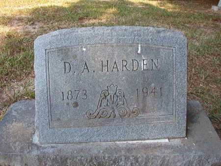 HARDEN, D A - Dallas County, Arkansas | D A HARDEN - Arkansas Gravestone Photos