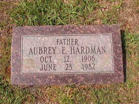 HARDMAN, AUBREY E - Dallas County, Arkansas | AUBREY E HARDMAN - Arkansas Gravestone Photos