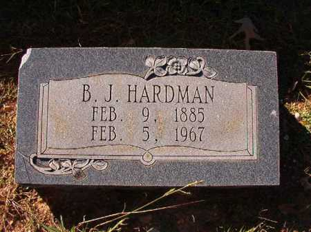 HARDMAN, B J - Dallas County, Arkansas | B J HARDMAN - Arkansas Gravestone Photos