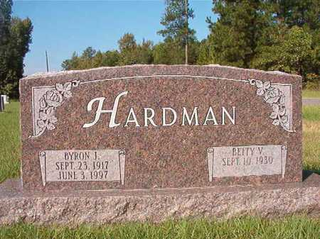 HARDMAN, BYRON J - Dallas County, Arkansas | BYRON J HARDMAN - Arkansas Gravestone Photos
