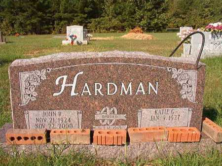 HARDMAN, JOHN R. - Dallas County, Arkansas | JOHN R. HARDMAN - Arkansas Gravestone Photos