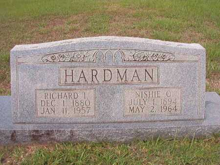HARDMAN, NISHIE O - Dallas County, Arkansas | NISHIE O HARDMAN - Arkansas Gravestone Photos