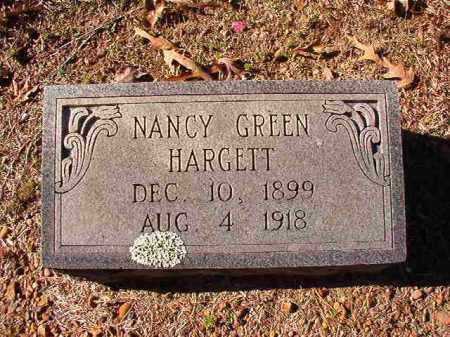 GREEN HARGETT, NANCY - Dallas County, Arkansas | NANCY GREEN HARGETT - Arkansas Gravestone Photos