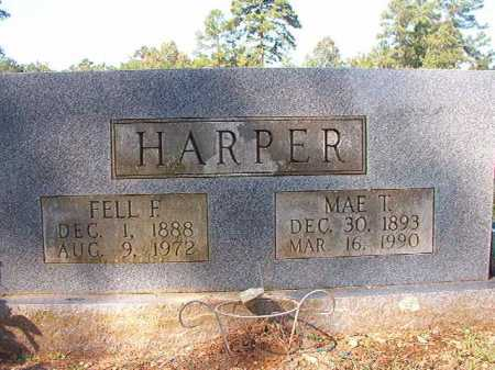 HARPER, FELL F - Dallas County, Arkansas | FELL F HARPER - Arkansas Gravestone Photos