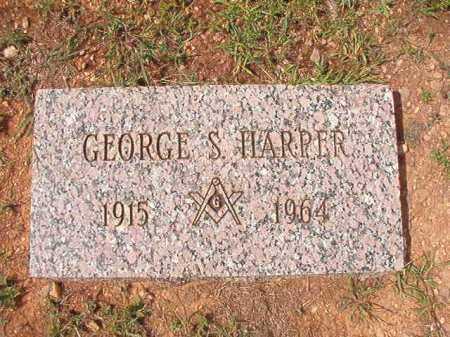 HARPER, GEORGE S - Dallas County, Arkansas | GEORGE S HARPER - Arkansas Gravestone Photos