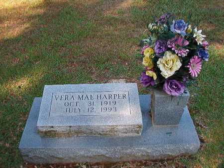 HARPER, VERA MAE - Dallas County, Arkansas | VERA MAE HARPER - Arkansas Gravestone Photos