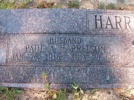 HARRELSON, PAUL A - Dallas County, Arkansas | PAUL A HARRELSON - Arkansas Gravestone Photos