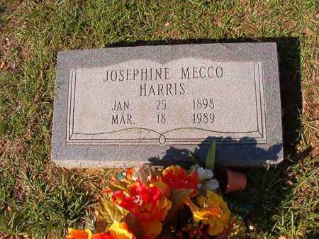 HARRIS, JOSEPHINE MECCO - Dallas County, Arkansas | JOSEPHINE MECCO HARRIS - Arkansas Gravestone Photos