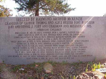 HARRISON, (MEMORIAL) - Dallas County, Arkansas | (MEMORIAL) HARRISON - Arkansas Gravestone Photos