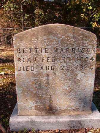 HARRISON, BETTIE - Dallas County, Arkansas | BETTIE HARRISON - Arkansas Gravestone Photos
