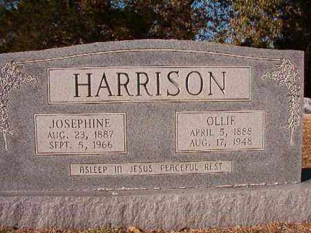 HARRISON, OLLIE - Dallas County, Arkansas | OLLIE HARRISON - Arkansas Gravestone Photos