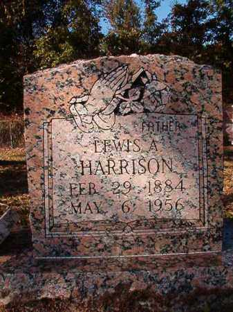 HARRISON, LEWIS ALLEN - Dallas County, Arkansas | LEWIS ALLEN HARRISON - Arkansas Gravestone Photos