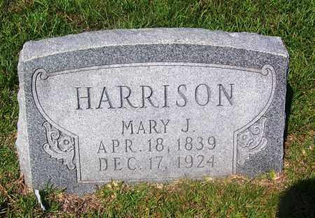 HARRISON, MARY J - Dallas County, Arkansas | MARY J HARRISON - Arkansas Gravestone Photos