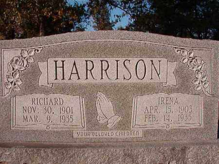 HARRISON, RICHARD - Dallas County, Arkansas | RICHARD HARRISON - Arkansas Gravestone Photos