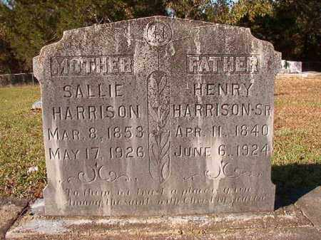 HARRISON, SR, HENRY - Dallas County, Arkansas | HENRY HARRISON, SR - Arkansas Gravestone Photos