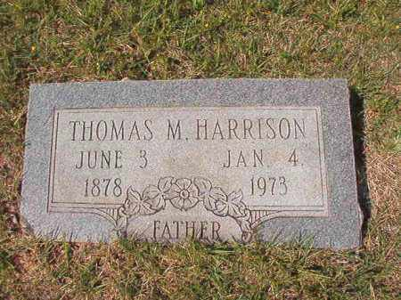 HARRISON, THOMAS M - Dallas County, Arkansas | THOMAS M HARRISON - Arkansas Gravestone Photos