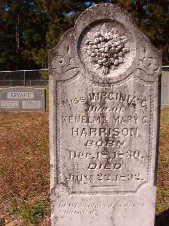 HARRISON, VIRGINIA C - Dallas County, Arkansas | VIRGINIA C HARRISON - Arkansas Gravestone Photos