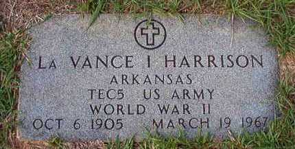 HARRISON (VETERAN WWII), LA VANCE I - Dallas County, Arkansas | LA VANCE I HARRISON (VETERAN WWII) - Arkansas Gravestone Photos