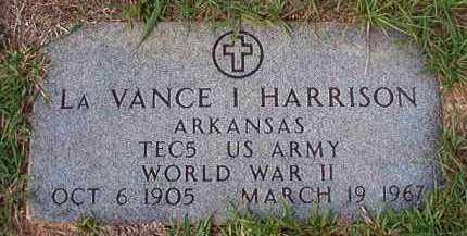 HARRISON (VETERAN WWII), LA VANCE I - Dallas County, Arkansas | LA VANCE I HARRISON (VETERAN WWII) - Arkansas Gravestone Photos