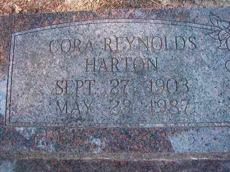 REYNOLDS HARTON, CORA - Dallas County, Arkansas | CORA REYNOLDS HARTON - Arkansas Gravestone Photos