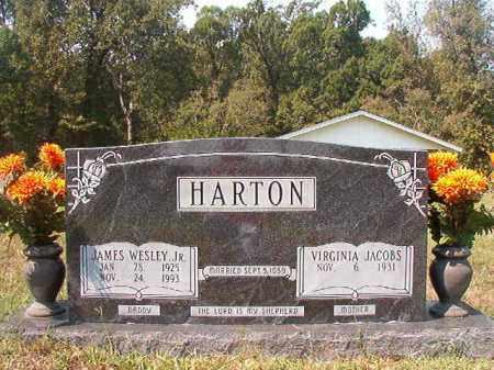HARTON, JR, JAMES WESLEY - Dallas County, Arkansas | JAMES WESLEY HARTON, JR - Arkansas Gravestone Photos