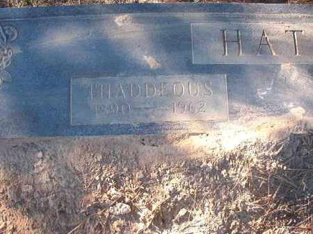 HATCHER, THADDEOUS - Dallas County, Arkansas | THADDEOUS HATCHER - Arkansas Gravestone Photos