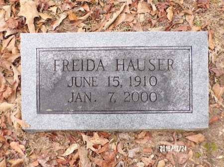 HAUSER, FREIDA - Dallas County, Arkansas | FREIDA HAUSER - Arkansas Gravestone Photos