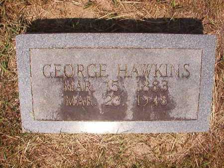 HAWKINS, GEORGE - Dallas County, Arkansas | GEORGE HAWKINS - Arkansas Gravestone Photos