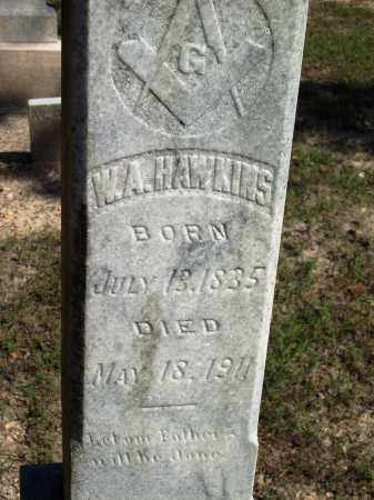 HAWKINS, W A - Dallas County, Arkansas | W A HAWKINS - Arkansas Gravestone Photos