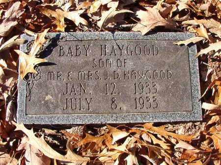 HAYGOOD, BABY - Dallas County, Arkansas | BABY HAYGOOD - Arkansas Gravestone Photos
