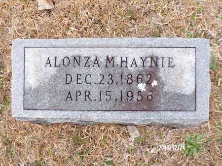 HAYNIE, ALONZA M - Dallas County, Arkansas | ALONZA M HAYNIE - Arkansas Gravestone Photos