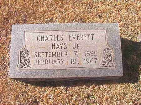 HAYS, JR, CHARLES EVERETT - Dallas County, Arkansas | CHARLES EVERETT HAYS, JR - Arkansas Gravestone Photos