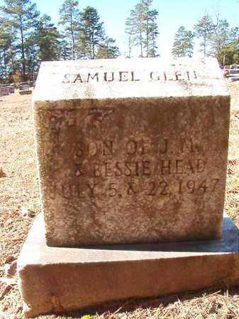 HEAD, SAMUEL GLEN - Dallas County, Arkansas | SAMUEL GLEN HEAD - Arkansas Gravestone Photos