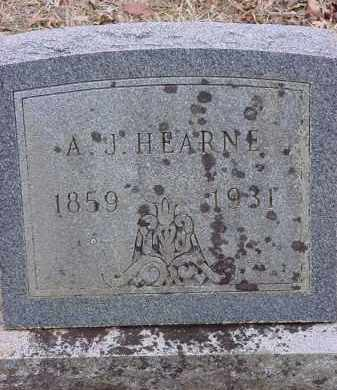 HEARNE, A. J. - Dallas County, Arkansas | A. J. HEARNE - Arkansas Gravestone Photos