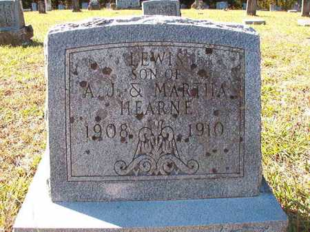 HEARNE, LEWIS - Dallas County, Arkansas   LEWIS HEARNE - Arkansas Gravestone Photos
