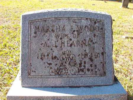 HEARNE, MARTHA E - Dallas County, Arkansas | MARTHA E HEARNE - Arkansas Gravestone Photos