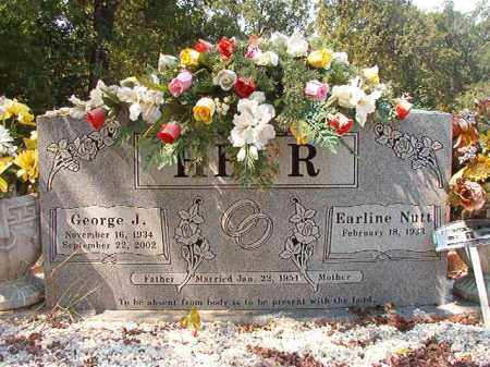 HEER, EARLINE - Dallas County, Arkansas | EARLINE HEER - Arkansas Gravestone Photos