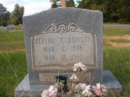 HEINLEY, BERTHA T - Dallas County, Arkansas | BERTHA T HEINLEY - Arkansas Gravestone Photos
