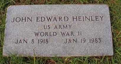 HEINLEY (VETERAN WWII), JOHN EDWARD - Dallas County, Arkansas | JOHN EDWARD HEINLEY (VETERAN WWII) - Arkansas Gravestone Photos