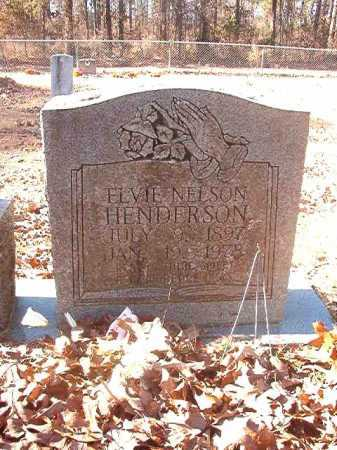 HENDERSON, ELVIE - Dallas County, Arkansas | ELVIE HENDERSON - Arkansas Gravestone Photos