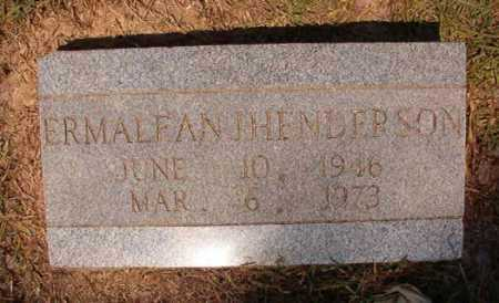 HENDERSON, ERMALEAN J - Dallas County, Arkansas | ERMALEAN J HENDERSON - Arkansas Gravestone Photos