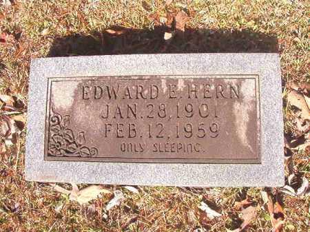 HERN, EDWARD E - Dallas County, Arkansas | EDWARD E HERN - Arkansas Gravestone Photos